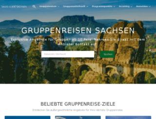 salesguide.sachsen-tourismus.de screenshot