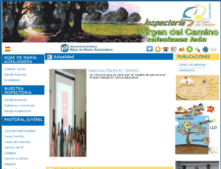 salesianasleon.org screenshot