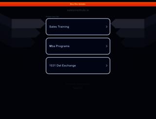 salesinstitute.ie screenshot