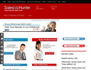 salesjobhunter.net screenshot