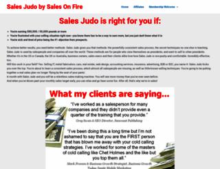 salesjudo.sales-on-fire.com screenshot