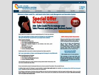 salesleadspro.com screenshot