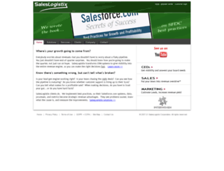 saleslogistix.com screenshot