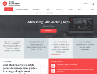 salesmanagement.org screenshot