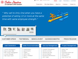 salesmantra.org screenshot