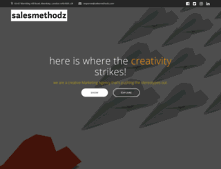 salesmethodz.com screenshot