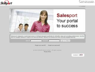 salesport.skillport.com screenshot