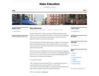 salespractice.edublogs.org screenshot