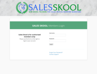 salesskool.com screenshot