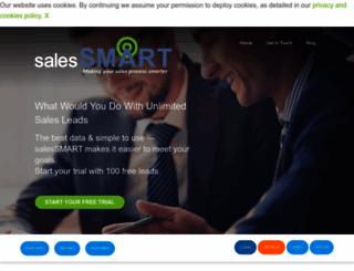salessmart.co.uk screenshot