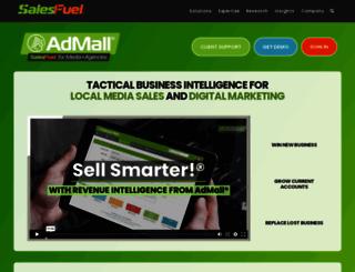 salestouch.admall.com screenshot