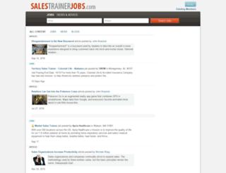 salestrainerjobs.com screenshot