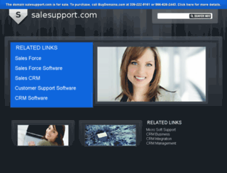 salesupport.com screenshot