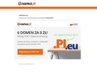 saleticket.eu screenshot