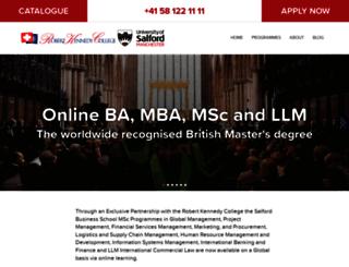 salford.rkc.edu screenshot