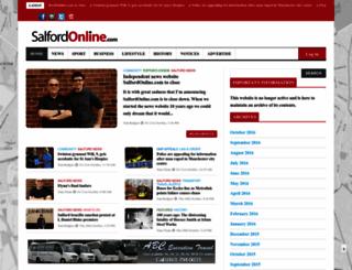 salfordonline.com screenshot
