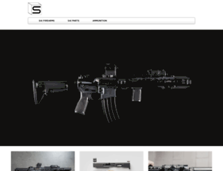 salientarmsinternational.com screenshot