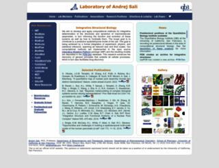 salilab.org screenshot