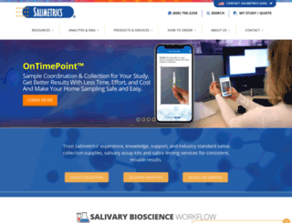 salimetrics.com screenshot