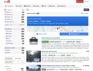 salinas.claz.org screenshot