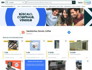 salinas.olx.com.ec screenshot