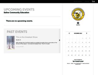 saline-community-education.ticketleap.com screenshot