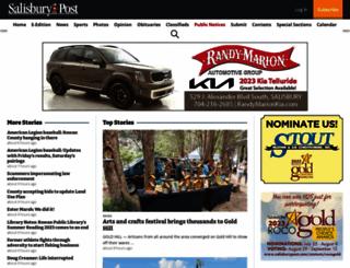 salisburypost.com screenshot