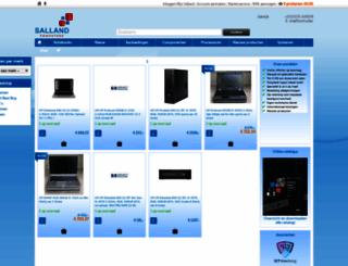 salland.eu screenshot
