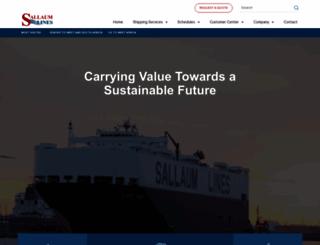sallauminternational.com screenshot