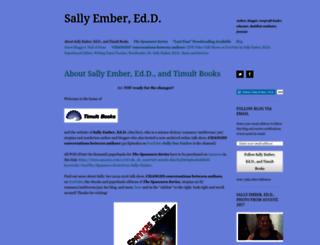 sallyember.wordpress.com screenshot