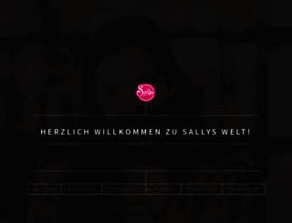 sallystortenwelt.de screenshot