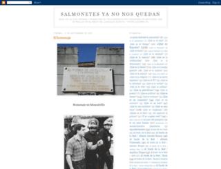 salmonetesyanonosquedan.blogspot.com.es screenshot