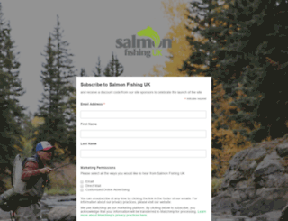 salmonfishing-uk.com screenshot