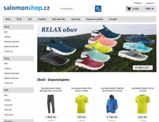 salomonshop.cz screenshot