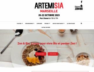 salon-artemisia.com screenshot