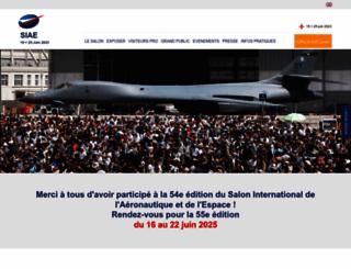 salon-du-bourget.fr screenshot