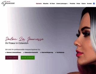 salon-lajeunesse.de screenshot