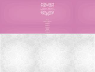 salon-mona.com screenshot