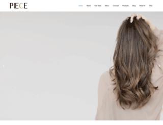 salon-piece.com screenshot