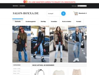 salon-roxxa.de screenshot