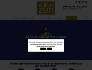 salon-zen.fr screenshot
