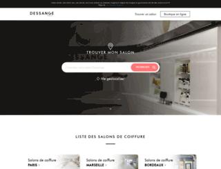 salon.dessange.com screenshot