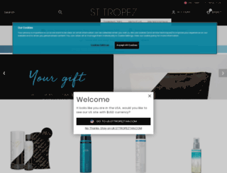 salon.st-tropez.com screenshot
