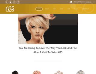salon625.com screenshot