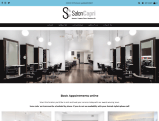 saloncapri.com screenshot