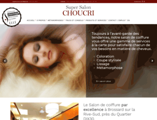salonchoucri.com screenshot