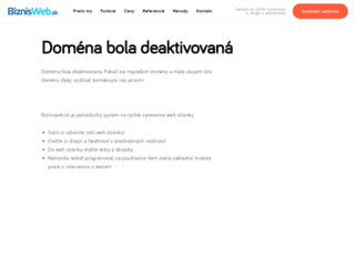 saloncinderella.sk screenshot