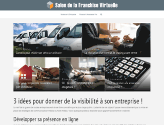 salondelafranchisevirtuel.com screenshot