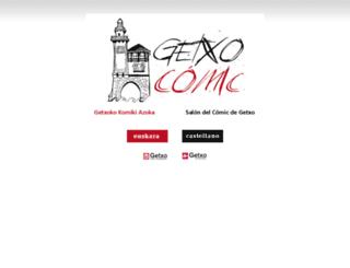 salondelcomicdegetxo.net screenshot