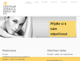 salondeluxe.cz screenshot